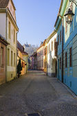 Sighisoara barevné ulice