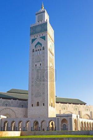 Photo pour Mosquée Hassan II Casablanca Maroc - image libre de droit