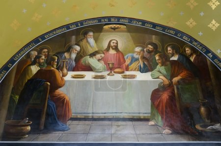 The Last Supper - Christ's last supper with his disciples
