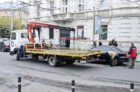 Tow Truck in Lvov