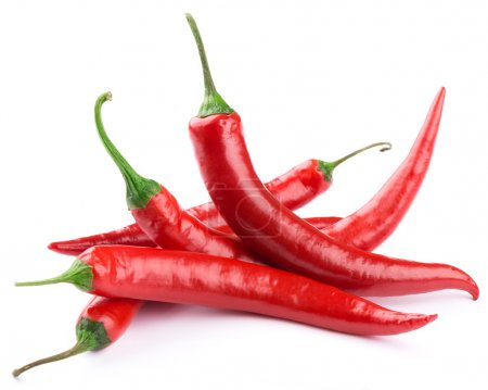 Photo for Chili pepper isolated on a white backgroun - Royalty Free Image
