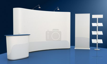 Photo for Render 3d place an ad. - Royalty Free Image