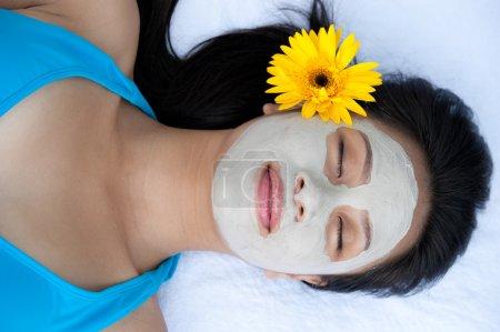 Getting spa procedures