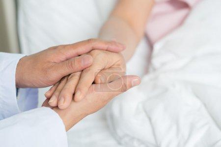 Comfort gesture