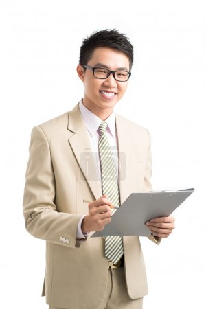 Asian manager