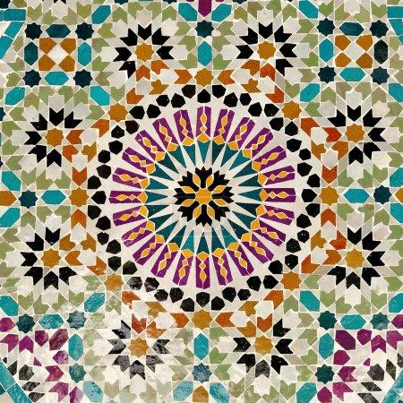 Photo pour Mosaique antique - image libre de droit