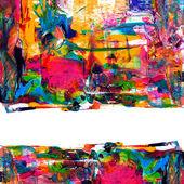 """Постер, картина, фотообои """"Абстрактный акриловая краска"""""""