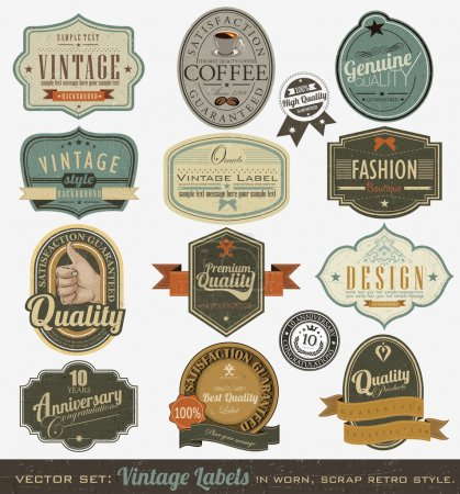 Ilustración de Diseño retro - Imagen libre de derechos