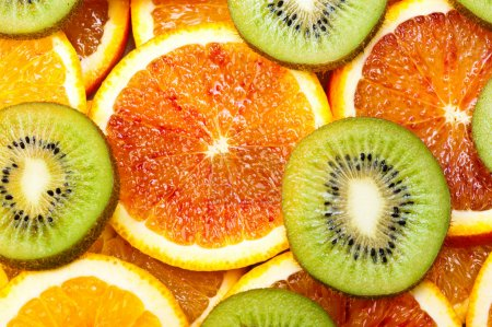 oranges and kiwi