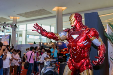 Iron Man model in Thailand Comic Con 2014.
