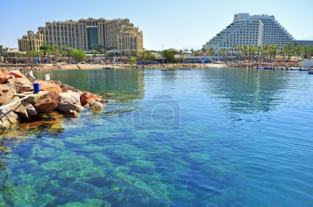 Beach town of Eilat