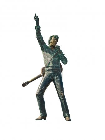 Isolated Elvis Presley