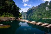 Cheo lan jezero khao sok národní park Thajska