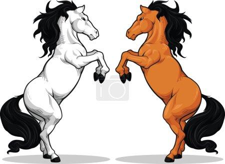 Prancing Stallion or Horse