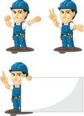 Technician or Repairman Customizable Mascot 7
