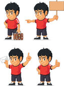 Soccer Boy Customizable Mascot 17