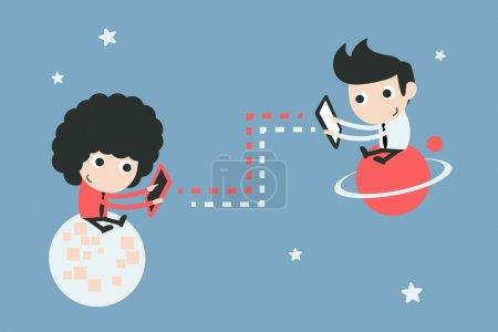 Illustration for Communication - Royalty Free Image
