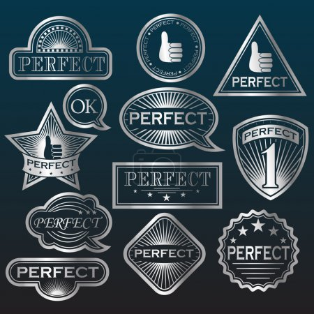 Silver Labels 'Perfect'.