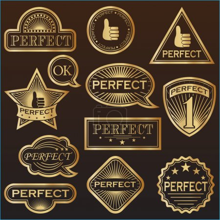 Gold Labels 'Perfect'.