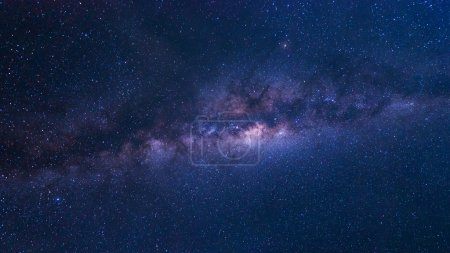 Photo for Colorful space shot of milky way galaxy with stars and space dust - Royalty Free Image