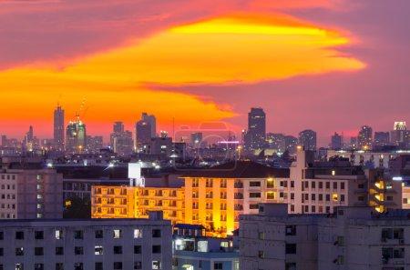 Cityscape view of Bangkok