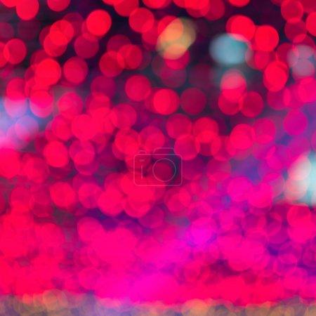 Photo pour Lumières de fond abstraites floues, beau Noël . - image libre de droit