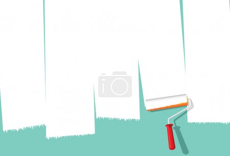 Paint Roller Background