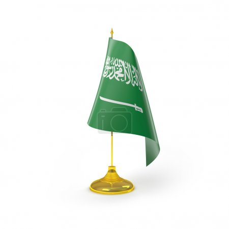 Photo for 3D Illustration of Detailed Flag Render isolated on White Background - Royalty Free Image