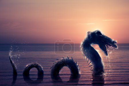 Scary Loch Ness Monster