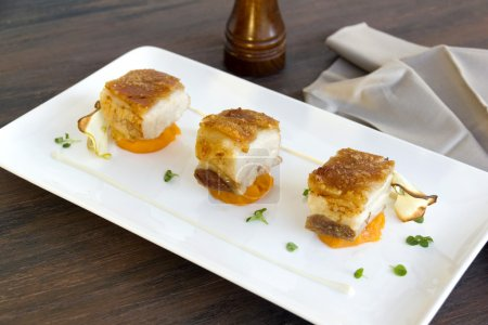 Roasted Pork Belly Cubes