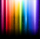 Abstract vector rainbow aurora background