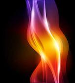 """Постер, картина, фотообои """"Аннотация Векторный фон пламени - Сетчатый градиент"""""""