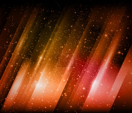 Illustration for Vector red Shiny background - Royalty Free Image