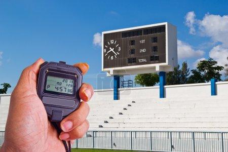 scoreboard,