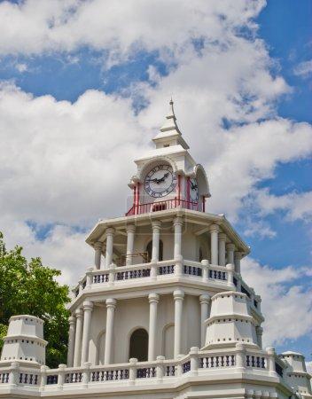 Photo pour Tour de l'horloge à bangkok en Thaïlande. - image libre de droit