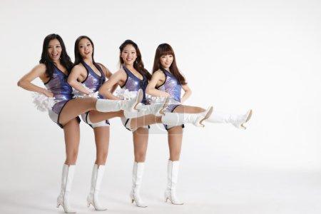 Asian cheerleaders