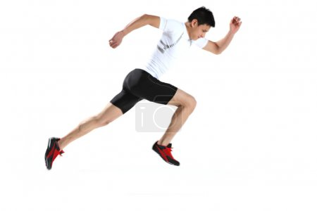 Photo for Asian male runner - Royalty Free Image
