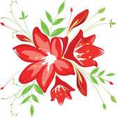 bouquet of flowers vector illustration