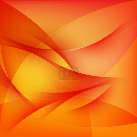 Illustration for Red abstract background, curved lines pattern texture - Royalty Free Image