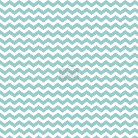 Illustration for Classic chevron pattern. Light blue creme color. - Royalty Free Image