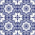 Background vintage flower. Seamless floral pattern...