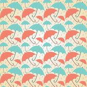 Pastel umbrellas