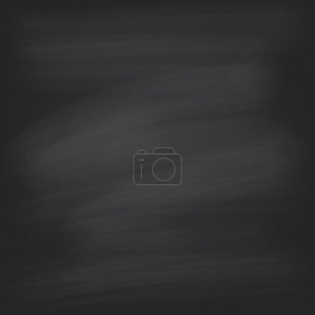 Black chalkboard background. Vector illustration. ...