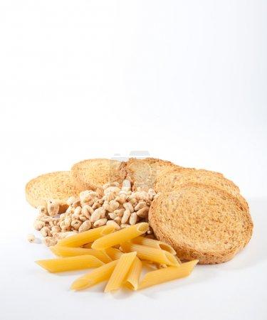Image representing grain bread and healthy food...