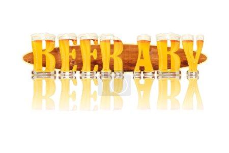 Bier Alphabet Buchstaben Bier abv