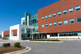 Moderní lékařské centrum budova