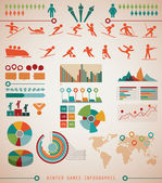 Winter Sports Games Infographics