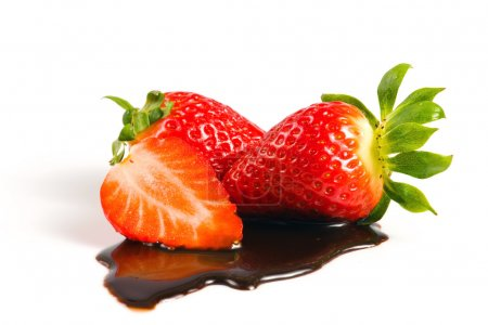 Photo for Strawberry in chocolate - Royalty Free Image