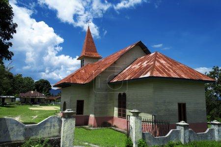 Protestant Church Lumban Lintong, Samosir Island.
