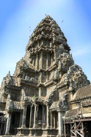 Upper Gallery at Angkor Wat.
